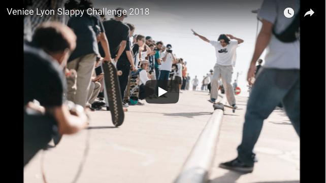FreeSkateMag Venice Lyon Slappy Challenge 2018