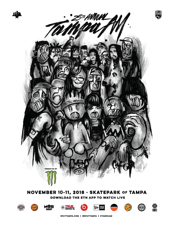Tampa am 25th