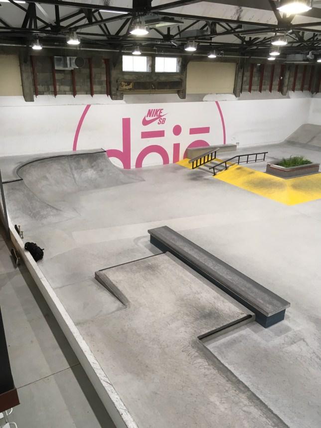 NIKE SB Skate Park dojo