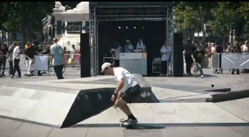 Snipes Squad up Paris Flatspot Channel