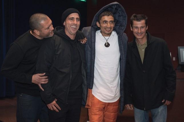 L.A. Boys Rudy,Guy,Paulo,Gabriel,photo:yoon sul 2016