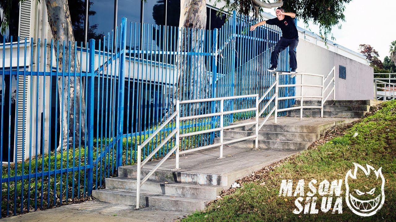 Source YouTube Thrasher Magazine Mason Silva Spitfire Part