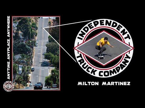 Source YouTube Independent Trucks Milton Martinez Hillbomb