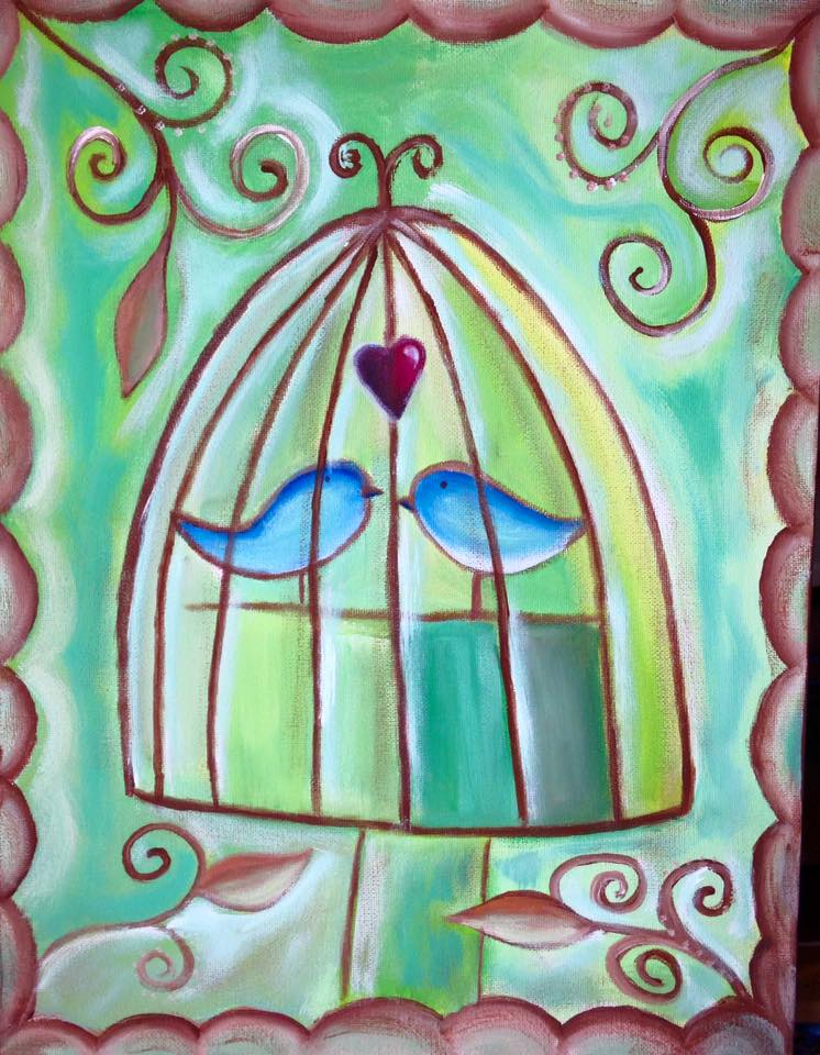 March 2nd – Love birds – The Loft Studio