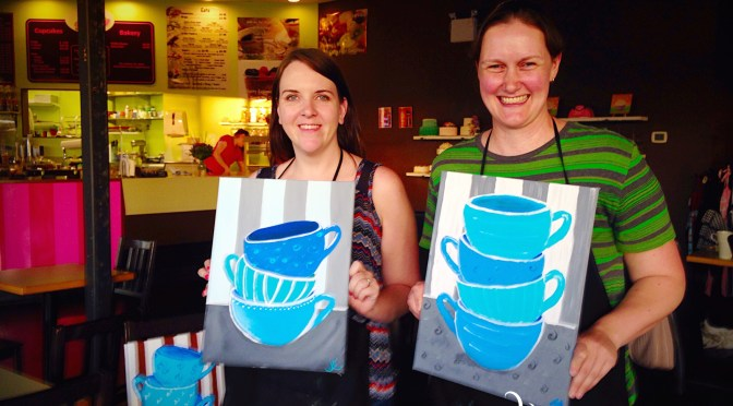 Teacups – Painting pARTy
