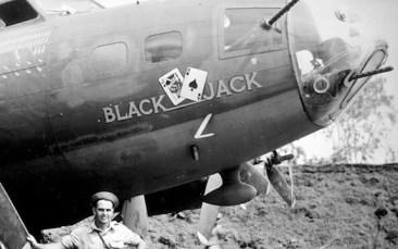 McCullar's B-17 with nose gun
