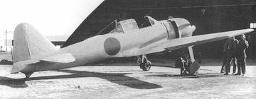 Parked A6M3 Zero