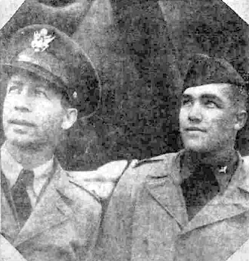 Thomas Charles and Arthur Durbeck 403rd Bomb Squadron