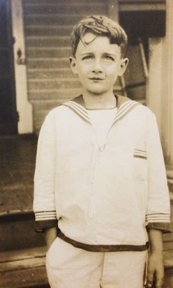 Photo of Zeamer as child