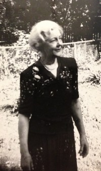 Photo of Zeamer's mother Margery