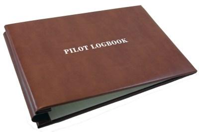 Photo of blank flight log