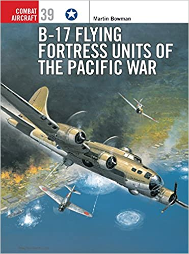 B-17 Flying Fortress Units of the Pacific War book cover