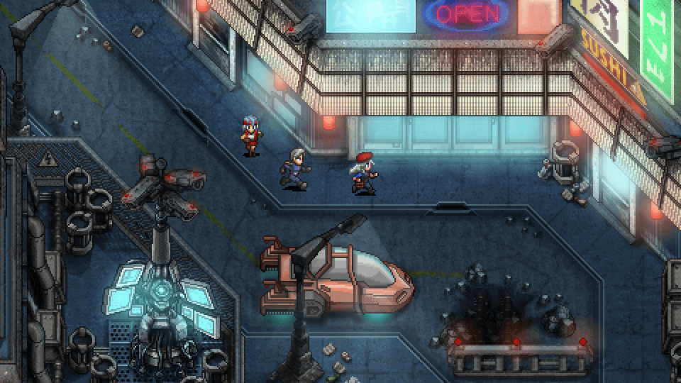 Cosmic Star Heroine -Best bad neighborhood
