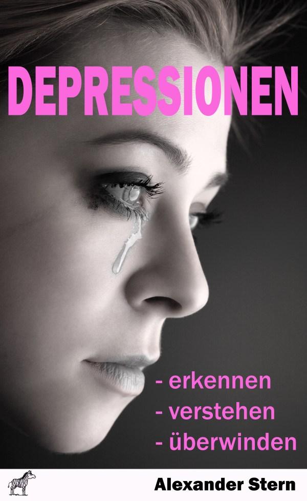 Buchcover - Depressionen überwinden