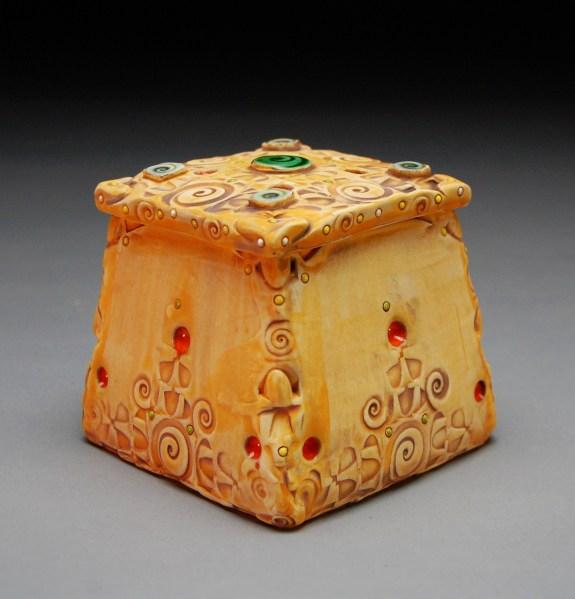 Gold Square Box