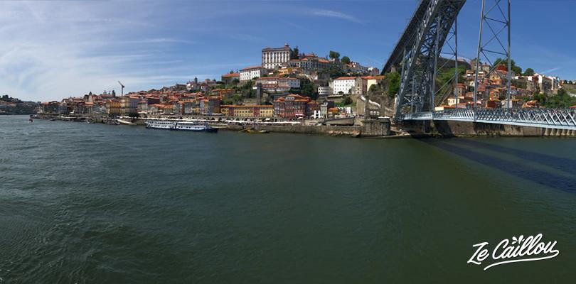 Les quais de la Ribeira et le Pont Dom Luis à Porto