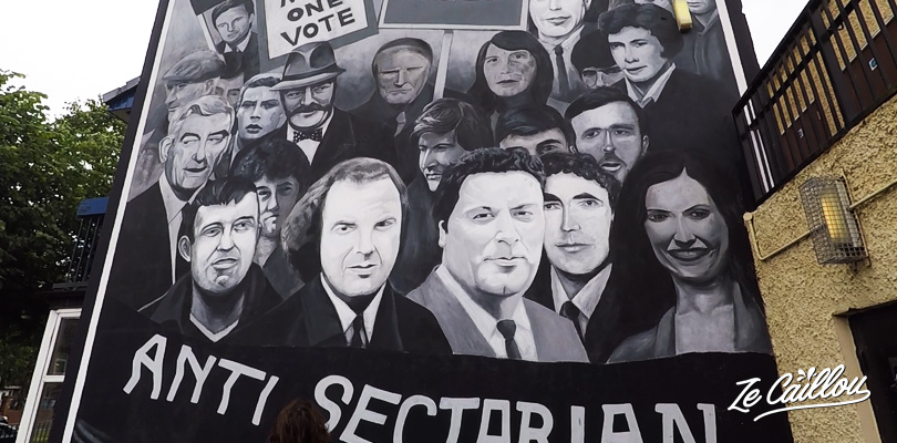 understand Northern Ireland story while watching its murals