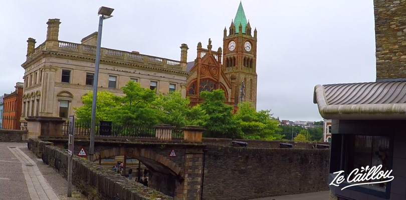 Walk along the 1.5km of fortification around the old Derry town in northern ireland