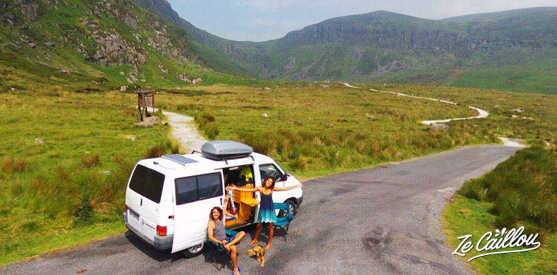 Have a peaceful time in Mahon Falls in real irish landscape