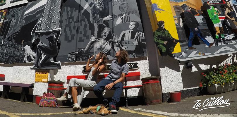 Découvrez les graffs dans toutes les rues de Belfast en Irlande du Nord