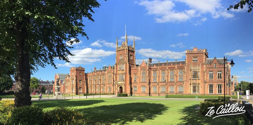 Visiter la Queen's University dans le sud ouest de Belfast