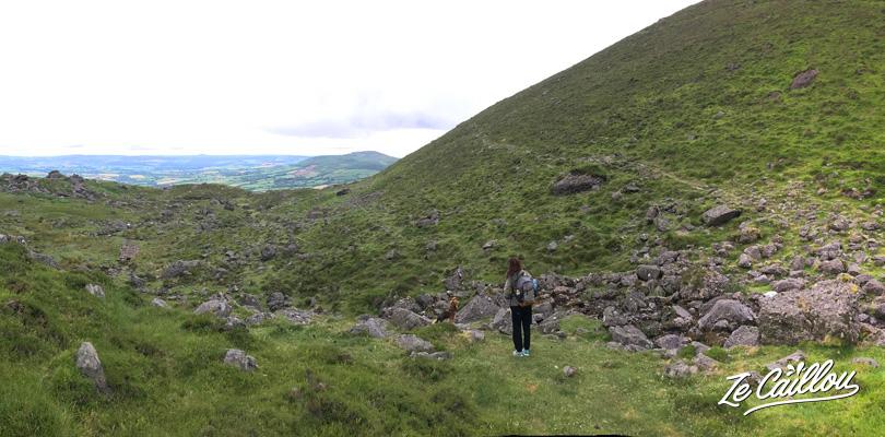 La marche jusqu'au lac de Coumshingaum, un air du Plateau de Kerval en Irlande