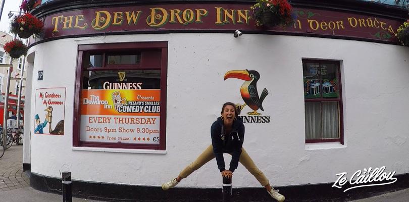 Découvrir la superbe ville de Galway en Irlande et boire de la guinness