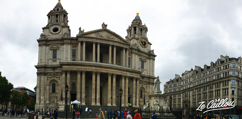 Testez la galerie des chuchotements à la cathédrale Saint-Paul à Londres.