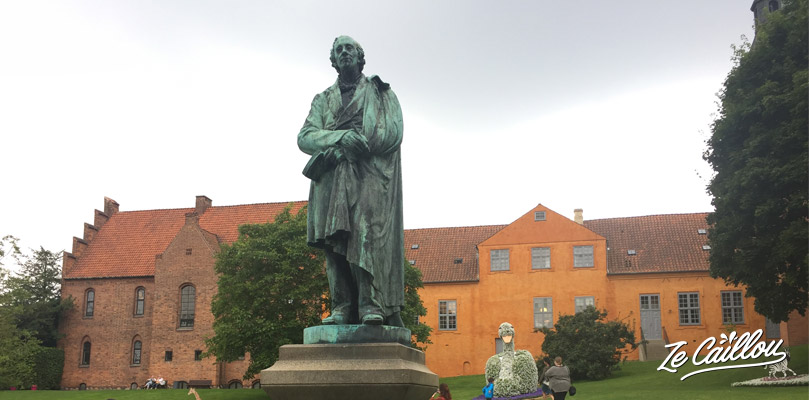 Discover the many statues and monuments of Hans Christian Andersen in Odense on the Funen Danish Island