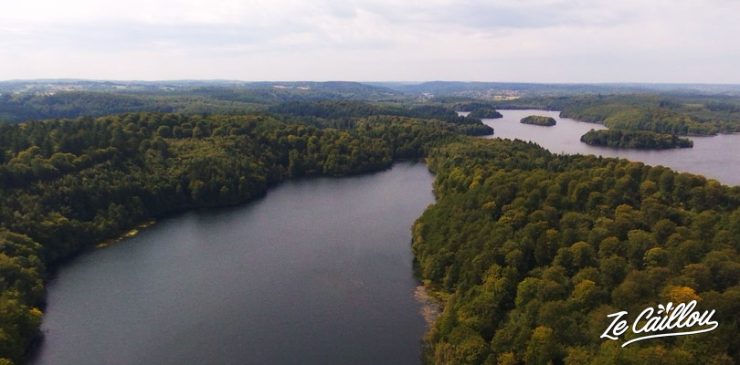Discover the beautiful lakes region in Denmark, Silkeborg close to Aarhus