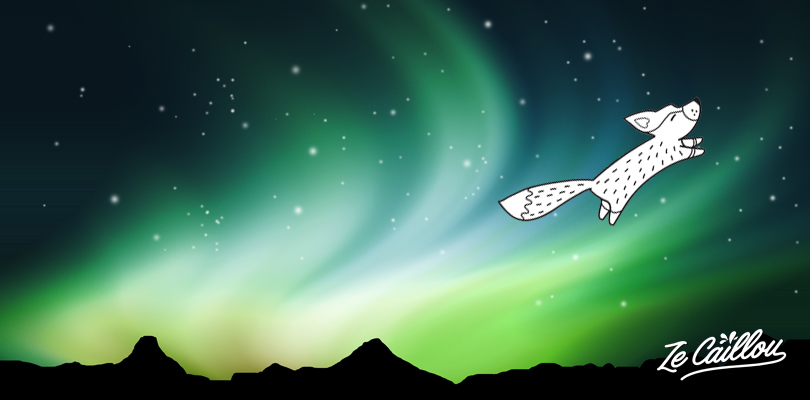 The Samy legend tells that the northern lights are created by a fox and his tail in the sky