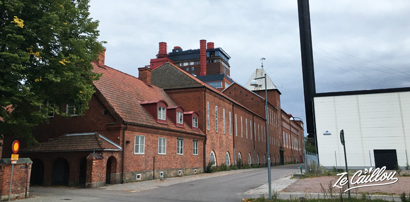 Have fun in the Vasteras water park in a old factory in Sweden