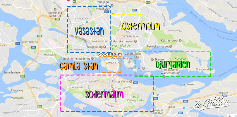 Visiter Stockholm en 3 jours et les différents quartiers de la capitale suédoise