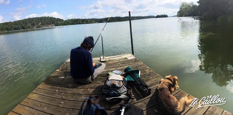 La Suède un paradis pour les pêcheurs. Perche, truite, saumon et autres poissons en Suède.