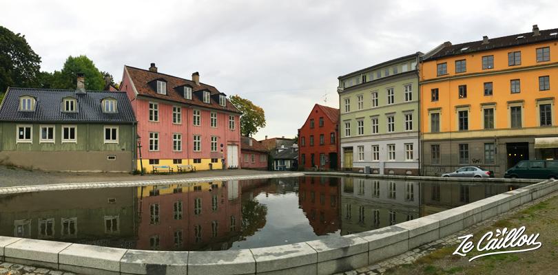 Se balader dans les quartiers de la capitale de la Norvège, Oslo.