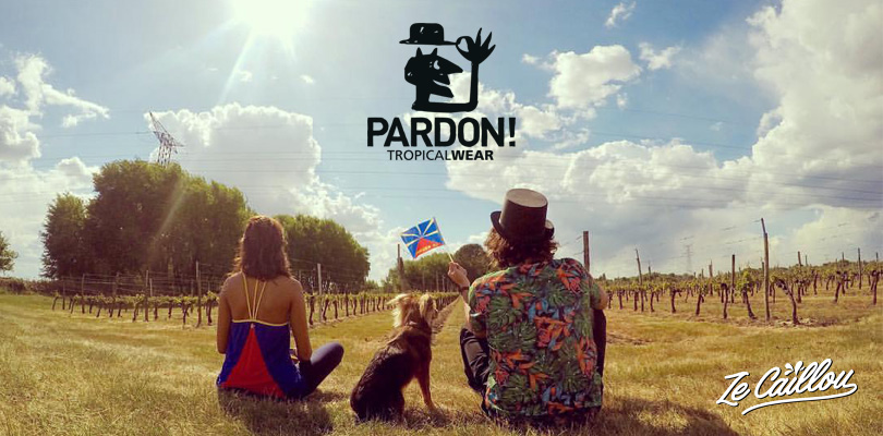One of our travel blog partners, Pardon tropical wear.