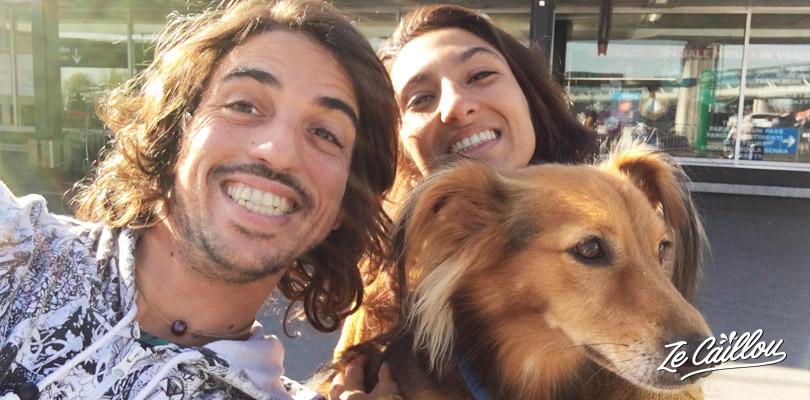 Le vol avec notre chien c'est très bien passer, tout savoir sur voyager avec un animal de compagnie !