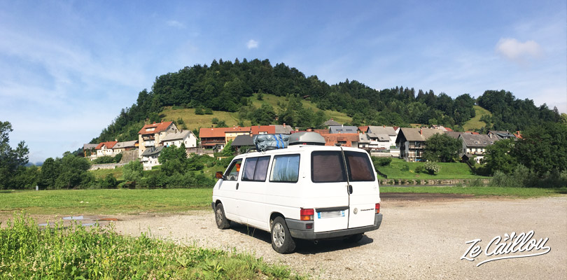 Roadtrip in Slovenia with a van, discover perfect spots in Slovenia for vanlife.