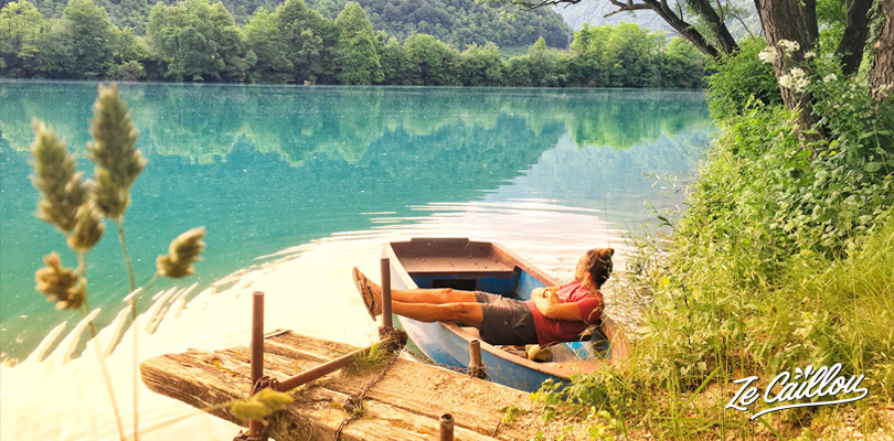 Visit Slovenia and discover the aquamarine water of Most na Soci in Tolmin.