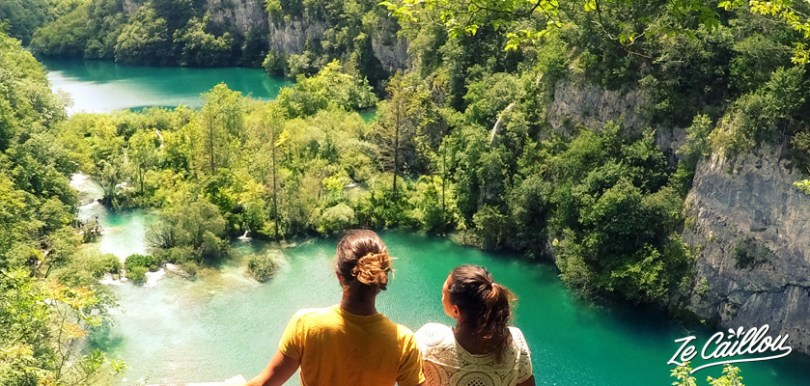 All you need to know to visit Plitvice lakes during a roadtrip in Croatia in campervan.