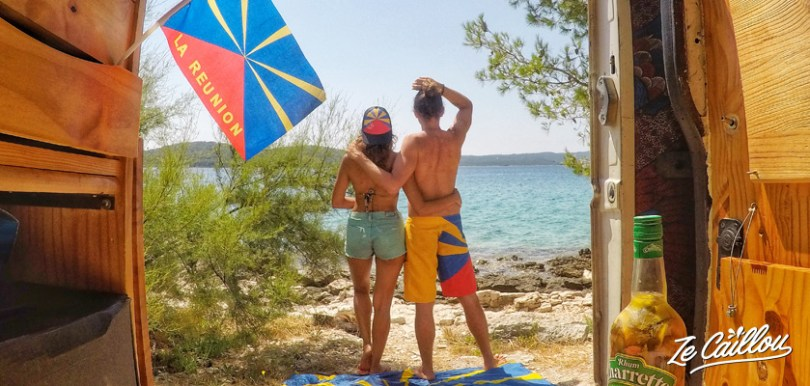 How to visit a croatian island with a campervan, all you need to know.
