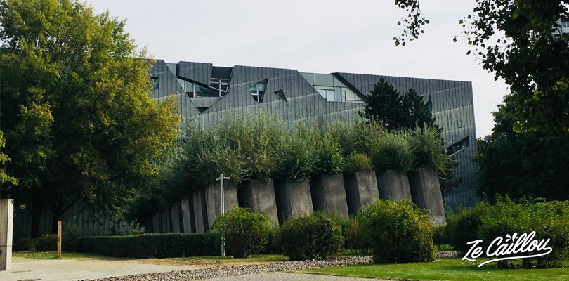 Le musée Juif et le jardin de l'Exil à Berlin.