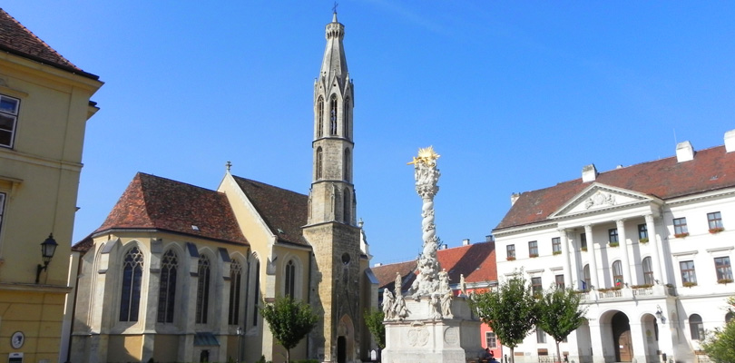 Fo place in Sopron in north-east hungary, near Vienna and Bratislava.