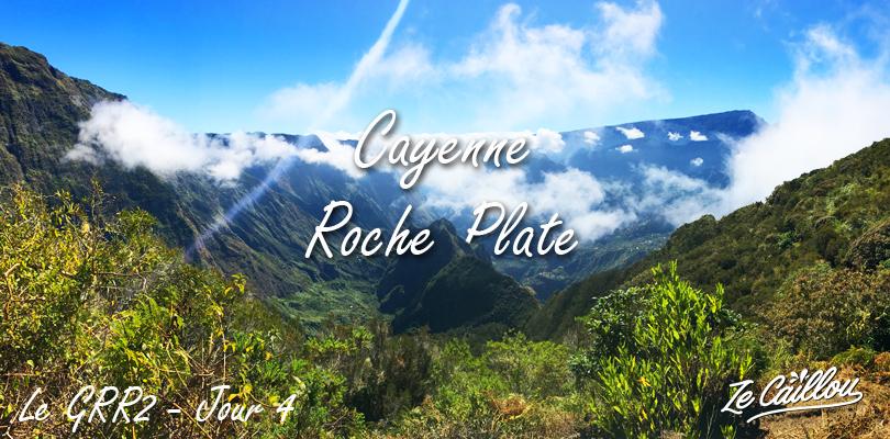 Randonnée Cayenne Roche Plate lors de notre GRR2 sentier de randonner à la Réunion.