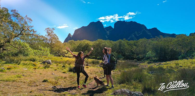 Notre magnifique randonnée à Mafate lors du grr3 Réunion.