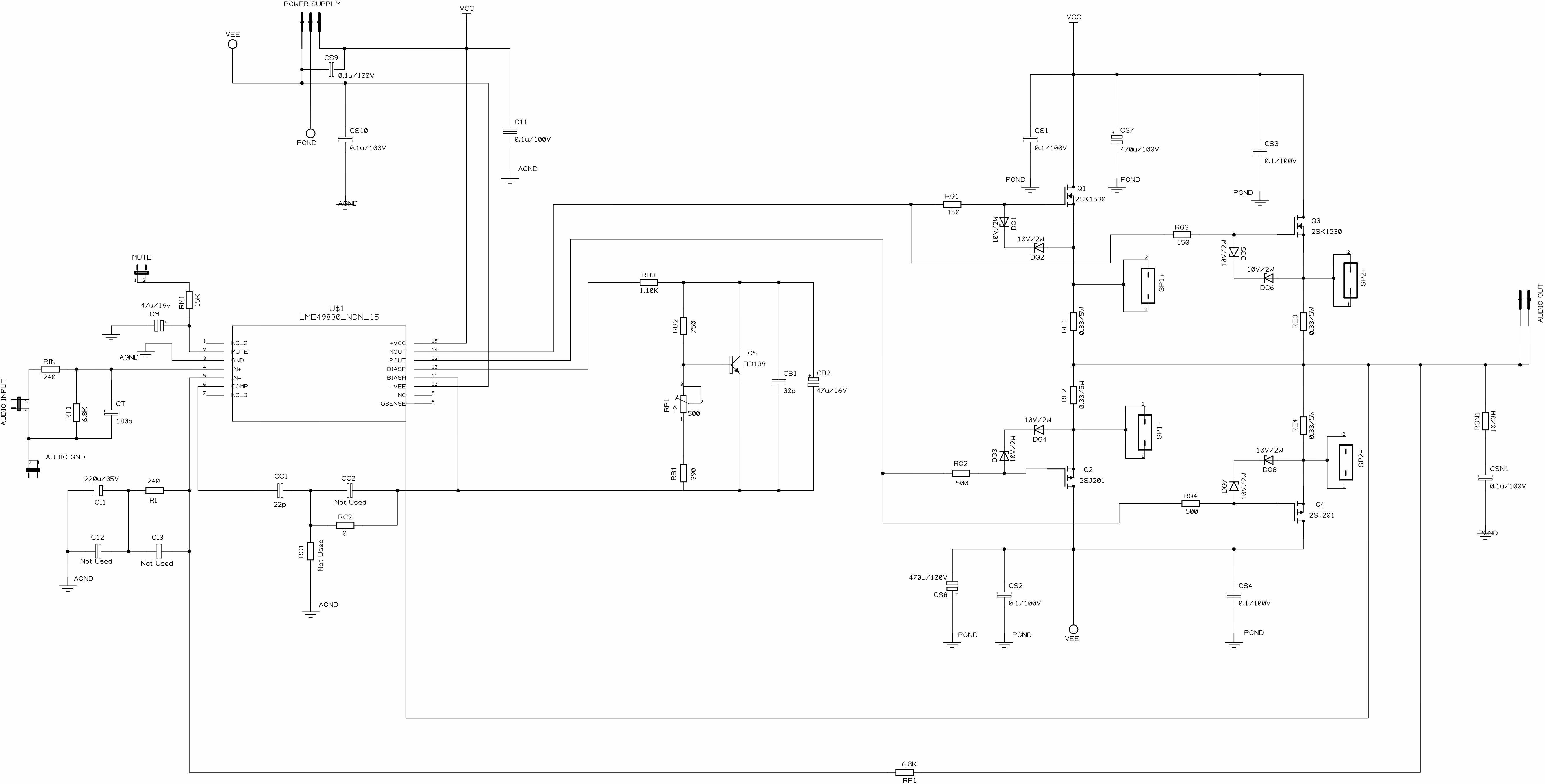 Perhaps Complete Power Amplifier Diy Mjejetj