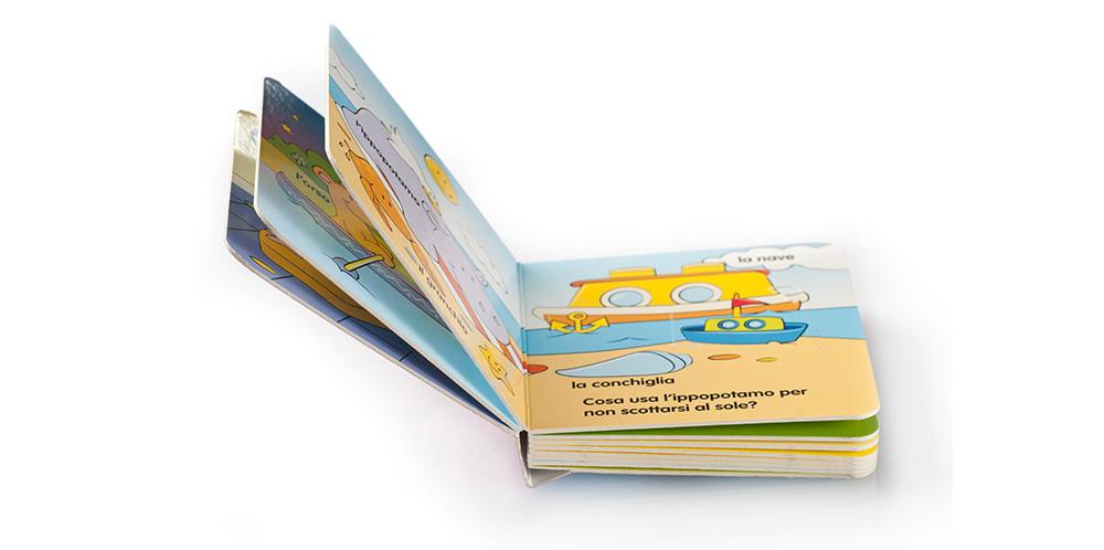 SD39 Libro per bambini aperto