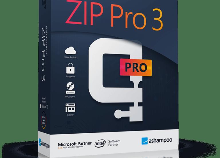 Ashampoo ZIP Pro 3.05.08 + Crack [ Latest Version ]