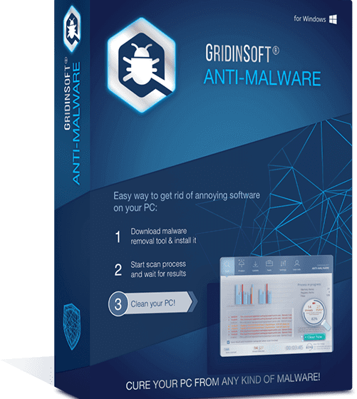 GridinSoft Anti-Malware 4.1.26 Image