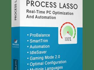 Download Process Lasso Pro Edition Crack Setup | 2020
